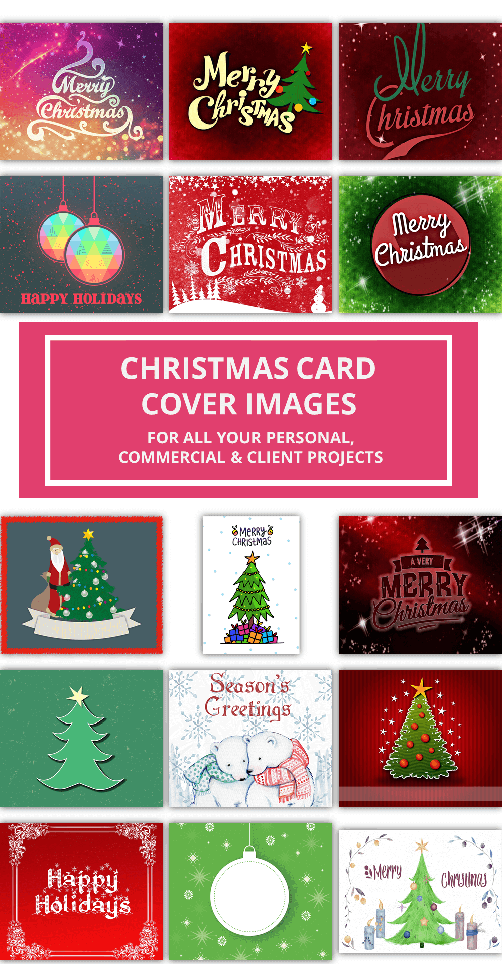 Christmas Card Cover Images 1