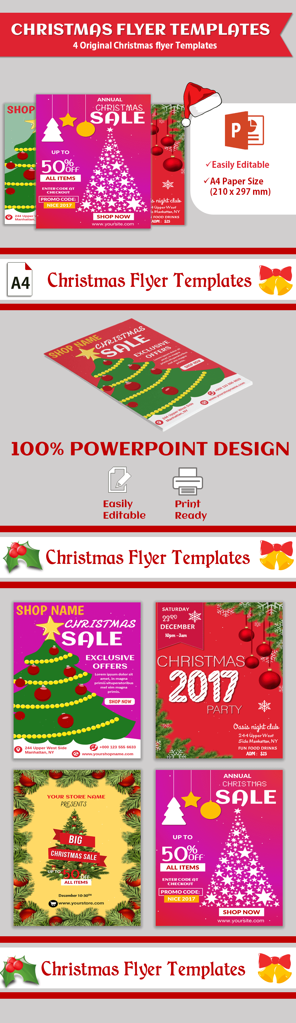 Christmas Sales Flyer