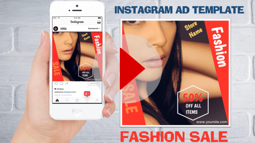 Instagram Ad Template1