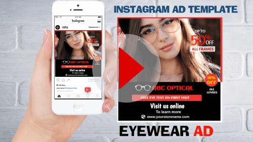 Instagram Ad Template4