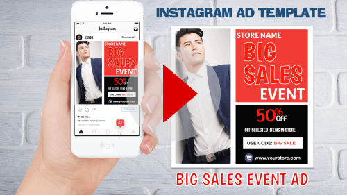 Instagram Ad Template6