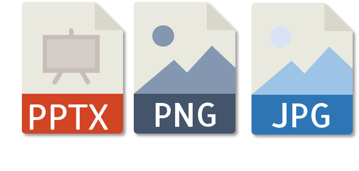 pptx image formats
